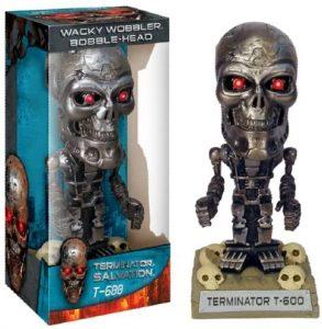 Figura de Ultimate Terminator T-600 de Wacky Wobbler - Muñecos de Terminator - Figuras coleccionables de Terminator
