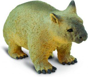 Figura de Wombat de Safari - Los mejores muñecos de Wombats - Figuras de Wombat de animales