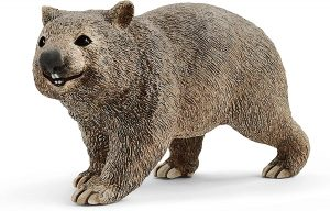 Figura de Wombat de Schleich - Los mejores muñecos de Wombats - Figuras de Wombat de animales