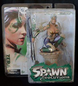 Figura de Zera de Spawn - Los mejores muñecos de Spawn - Figuras de Spawn
