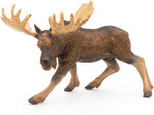 Figura de alce de Papo - Los mejores muñecos de alces - Figuras de alce de animales