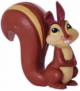 Figura de ardilla de Bullyland - Los mejores muñecos de ardillas - Figuras de ardilla de animales