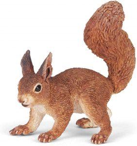 Figura de ardilla de Papo - Los mejores muñecos de ardillas - Figuras de ardilla de animales