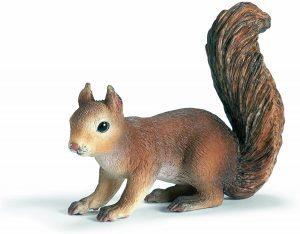 Figura de ardilla de Schleich 3 - Los mejores muñecos de ardillas - Figuras de ardilla de animales