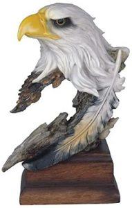 Figura de busto de Águila Calva de StealStreet - Los mejores muñecos de águilas - Figuras de águila de animales