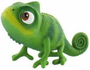 Figura de camaléon Pascal de Bullyland - Los mejores muñecos de camaleones - Figuras de camaleón de animales