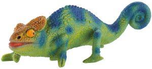Figura de camaléon de Bullyland - Los mejores muñecos de camaleones - Figuras de camaleón de animales