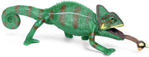 Figura de camaléon de Papo - Los mejores muñecos de camaleones - Figuras de camaleón de animales