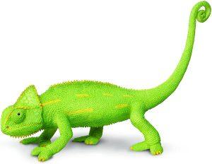 Figura de camaléon de Safari - Los mejores muñecos de camaleones - Figuras de camaleón de animales