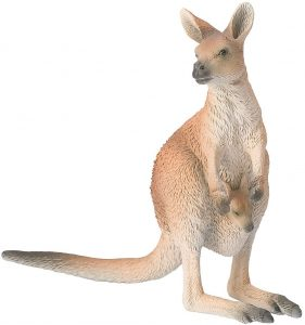 Figura de canguro de Bullyland - Los mejores muñecos de canguros - Figuras de canguro de animales