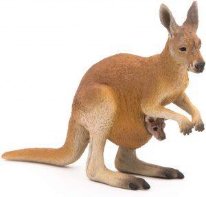 Figura de canguro de Papo - Los mejores muñecos de canguros - Figuras de canguro de animales