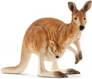 Figura de canguro de Schleich - Los mejores muñecos de canguros - Figuras de canguro de animales