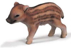 Figura de cría de Jabalí de Schleich 2 - Los mejores muñecos de jabalíes - Figuras de jabalí de animales