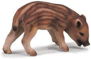 Figura de cría de Jabalí de Schleich - Los mejores muñecos de jabalíes - Figuras de jabalí de animales
