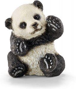 Figura de cría de Oso Panda de Schleich - Los mejores muñecos de osos panda - Figuras de oso panda de animales