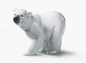 Figura de cría de Oso polar de Lladró 2 - Los mejores muñecos de osos polares - Figuras de oso polar de animales