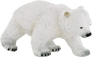 Figura de cría de Oso polar de Papo - Los mejores muñecos de osos polares - Figuras de oso polar de animales
