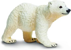 Figura de cría de Oso polar de Safari - Los mejores muñecos de osos polares - Figuras de oso polar de animales
