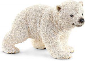 Figura de cría de Oso polar de Schleich - Los mejores muñecos de osos polares - Figuras de oso polar de animales