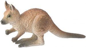 Figura de cría de canguro de Bullyland - Los mejores muñecos de canguros - Figuras de canguro de animales