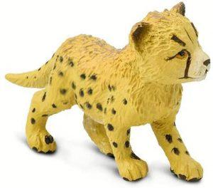 Figura de cría de guepardo de Plastoy - Los mejores muñecos de guepardos - Figuras de guepardo de animales