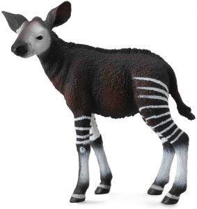 Figura de cría de okapi de Collecta - Los mejores muñecos de okapis - Figuras de okapi de animales