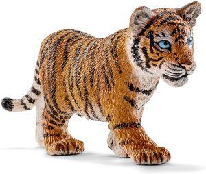 Figura de cría de tigre de Schleich - Los mejores muñecos de tigres - Figuras de tigrede animales