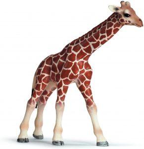 Figura de cría jirafa de Schleich 2 - Los mejores muñecos de jirafas - Figuras de jirafa de animales