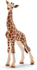Figura de cría jirafa de Schleich - Los mejores muñecos de jirafas - Figuras de jirafa de animales