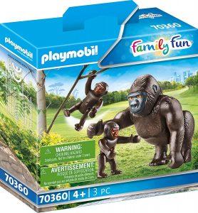 Figura de gorila de Playmobil 2 - Los mejores muñecos de gorilas - Figuras de gorila de animales