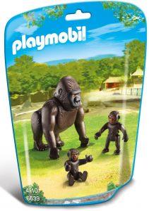 Figura de gorila de Playmobil - Los mejores muñecos de gorilas - Figuras de gorila de animales