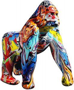Figura de gorila de Uziqueif - Los mejores muñecos de gorilas - Figuras de gorila de animales