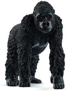 Figura de gorila hembra de Schleich - Los mejores muñecos de gorilas - Figuras de gorila de animales