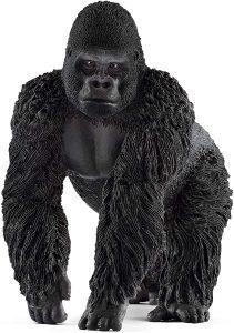 Figura de gorila macho de Schleich - Los mejores muñecos de gorilas - Figuras de gorila de animales