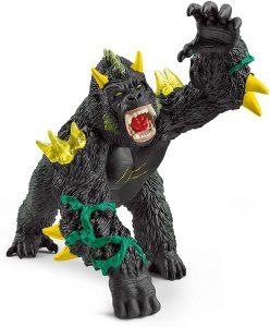 Figura de gorila monstruoso de Schleich - Los mejores muñecos de gorilas - Figuras de gorila de animales