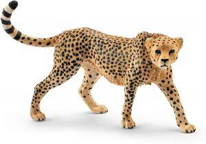Figura de guepardo de Schleich - Los mejores muñecos de guepardos - Figuras de guepardo de animales