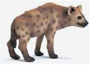 Figura de hiena de Schleich 2 - Los mejores muñecos de hienas - Figuras de hiena de animales