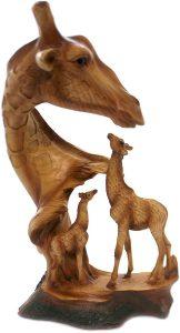Figura de jirafa de Unison Gifts - Los mejores muñecos de jirafas - Figuras de jirafa de animales