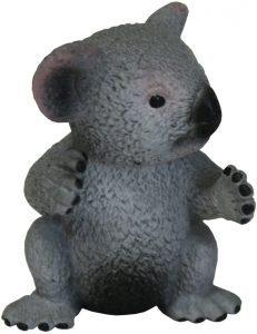 Figura de koala joven de Bullyland - Los mejores muñecos de koalas - Figuras de koala de animales