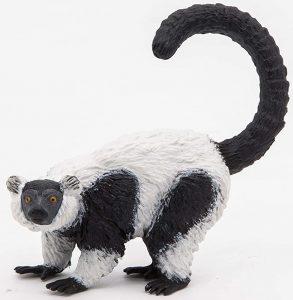 Figura de lémur rufo de Papo - Los mejores muñecos de lemures - Figuras de lémur de animales