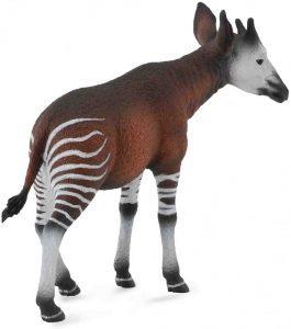 Figura de okapi de Collecta - Los mejores muñecos de okapis - Figuras de okapi de animales