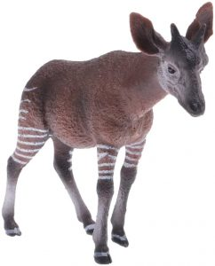 Figura de okapi de Desc - Los mejores muñecos de okapis - Figuras de okapi de animales
