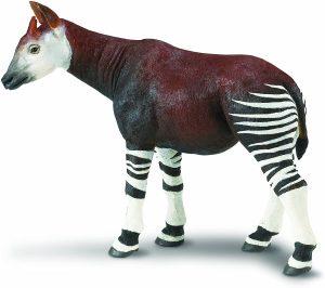Figura de okapi de Safari 2 - Los mejores muñecos de okapis - Figuras de okapi de animales