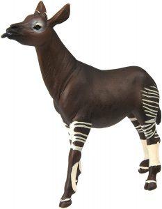 Figura de okapi de Safari - Los mejores muñecos de okapis - Figuras de okapi de animales