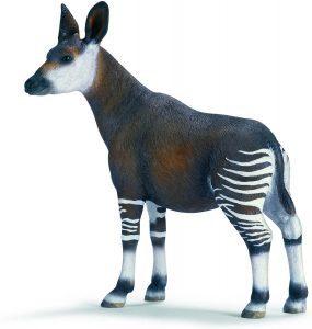 Figura de okapi de Schleich 2 - Los mejores muñecos de okapis - Figuras de okapi de animales