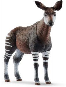 Figura de okapi de Schleich - Los mejores muñecos de okapis - Figuras de okapi de animales