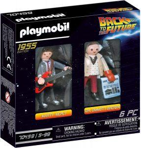Figura de personajes de Regreso al futuro de Playmobil - Los mejores muñecos de Back to the future - FIguras de Regreso al Futuro