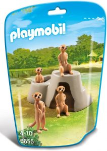 Figura de suricato de Playmobil - Los mejores muñecos de suricatos - Figuras de suricato de animales