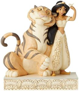 Figura de tigre Raja y Jasmine de Disney Traditions - Los mejores muñecos de tigres - Figuras de tigrede animales