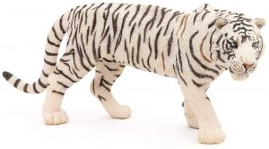 Figura de tigre blanco de Papo 2 - Los mejores muñecos de tigres - Figuras de tigrede animales